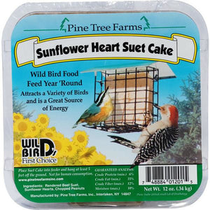 Pinetree Sunflower Heart Suet