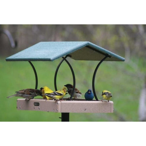 Image of Recycled Flythru Feeder from Backyard Nature Products