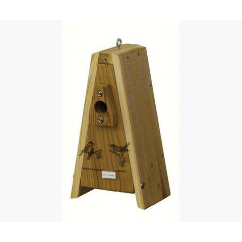 Stovall Country Squire A-Frame Wren/Chickadee Bird House