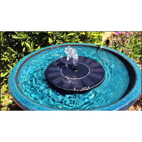 Image of STI Aquanura Solar Bird Bath Kit