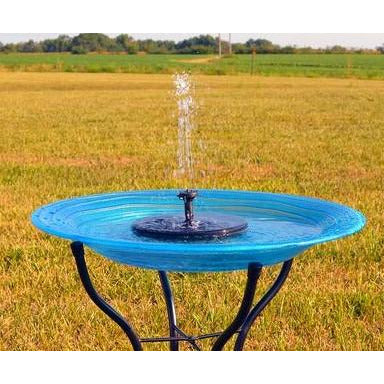 Floating Solar Bird Bath Bubbler (birdbath not included)