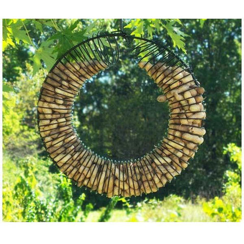 In-Shell Peanut Wreath Feeder