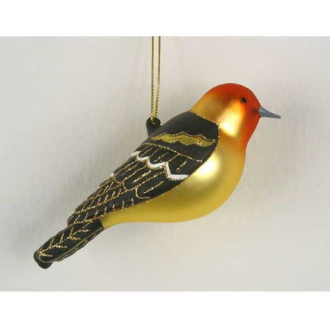Western Tanager Ornament from Cobane