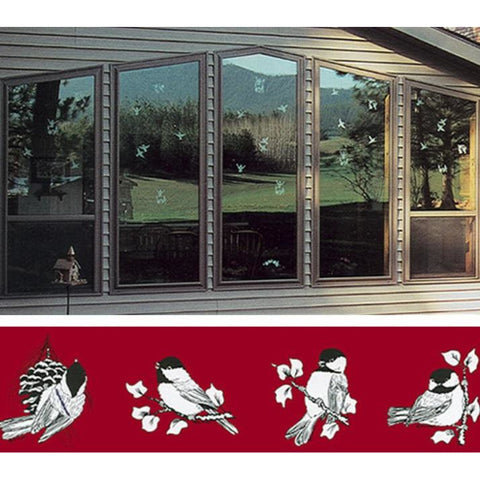 Whispering Windows Decals Set of 16 Decals