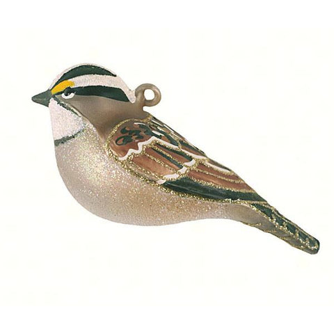 White-Throated Sparrow Ornament from Cobane