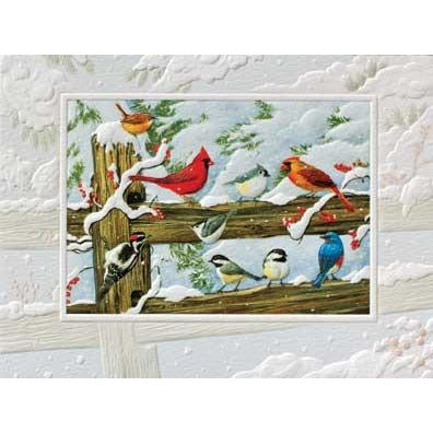 Pumpernickel Press Christmas Cards Winter Songbirds
