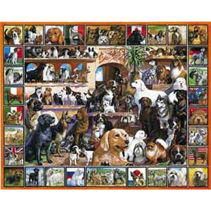 World of Dogs 1,000 Piece Puzzle