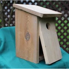 Bluebird House Kit for Western, Eastern, and Mountain Bluebirds