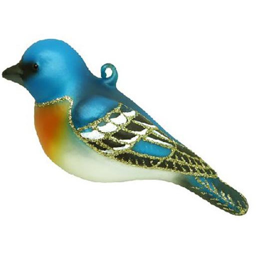 Lazuli Bunting Ornament from Cobane