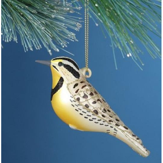 Meadowlark Ornament from Cobane