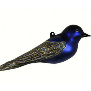 Purple Martin Ornament from Cobane