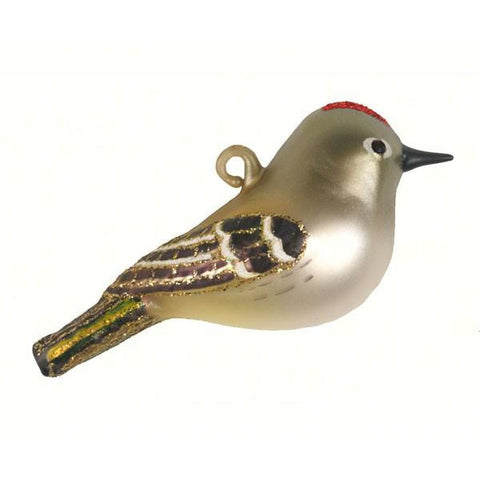Ruby-Crowned Kinglet Ornament from Cobane