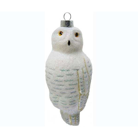 Snowy Owl Ornament from Cobane