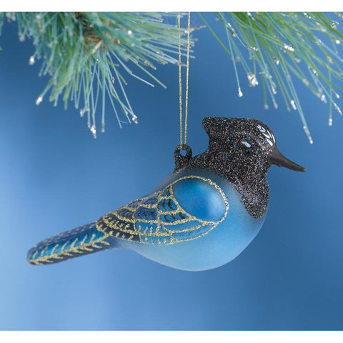 Image of Steller's Jay Ornament from Cobane