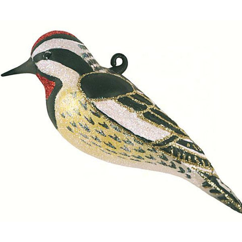 Yellow-Bellied Sapsuckerl Ornament from Cobane