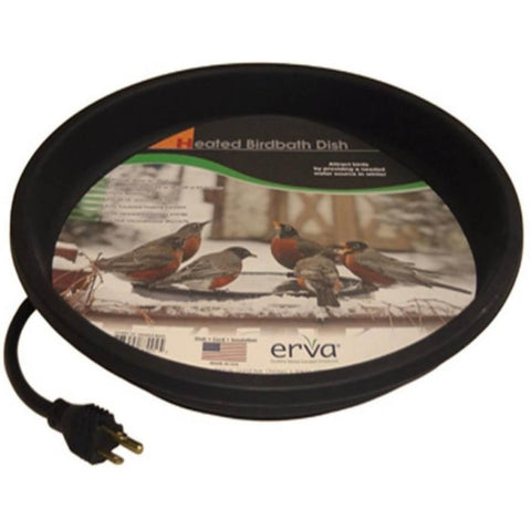 Erva Heated Bird Bath Dish