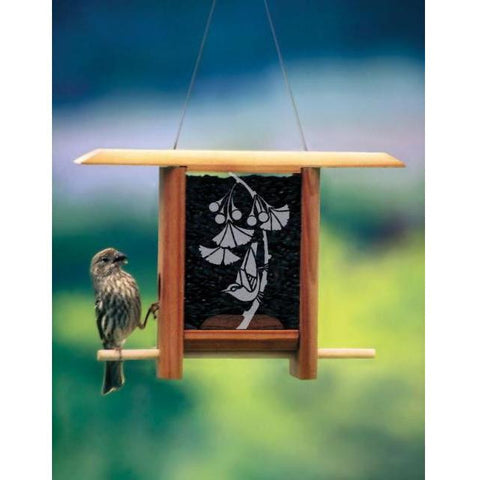 Schrodt Designs Ginko Teahouse Bird Feeder