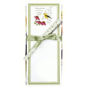 Goldfinch Flour Sack Towel and Magnetic Note Pad Set