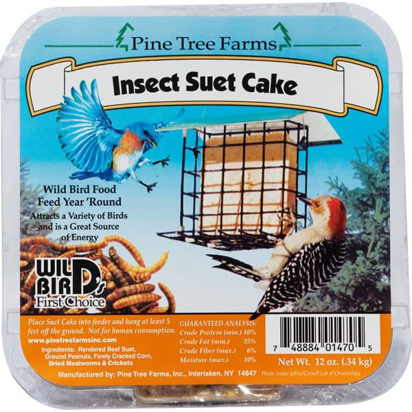 Pinetree Insect Suet Cake