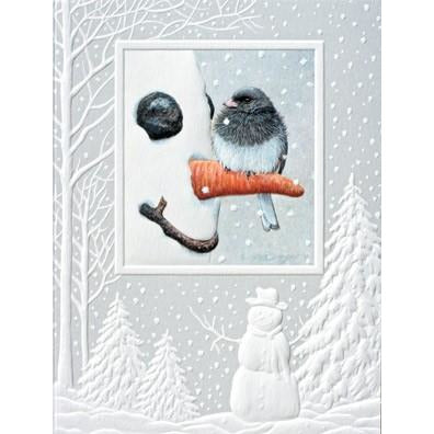 Pumpernickel Press Christmas Cards Nosey Junco II
