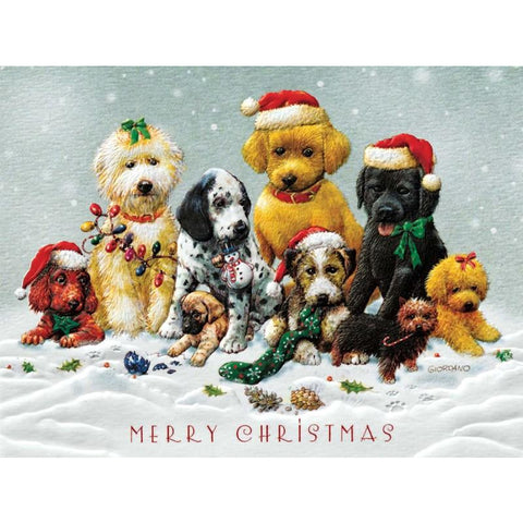 Pumpernickel Press Christmas Cards A Very Puppy Christmas