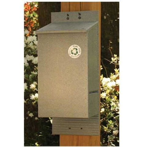 Recycled Four Chamber Bat House
