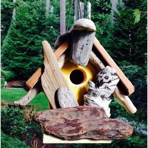 Heritage Bird Shanty Small Chickadee Bird House