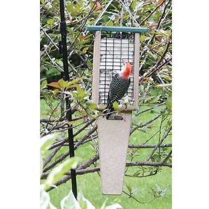 Birds Choice Large Recycled Tail Prop Suet Feeder