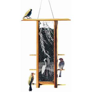 Schrodt Designs Heron Willows Bird Feeder