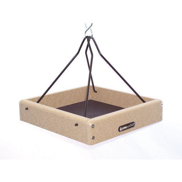 "Recycled 10""""x10"""" Hanging Tray w/Steel Rods"