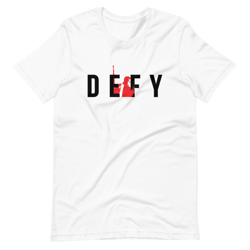 "Limited Edition  X ""BAMN"" Defy Silhouette T-Shirt"