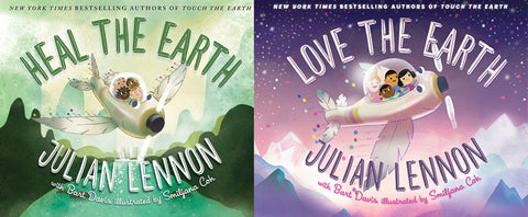 Heal The Earth & Love The Earth Book Collection - Includes Free MP4 Video Books