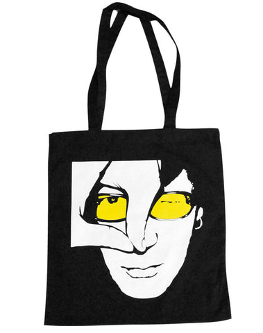 Julian Lennon (JL Logo) Black Shopper Bag