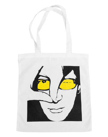 Julian Lennon (JL Logo) White Shopper Bag