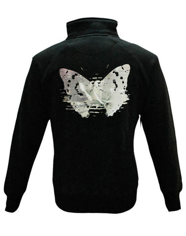 Julian Lennon (First Rose) Black Zip Track Top