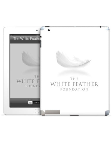 White Feather Foundation iPad Mini Skin