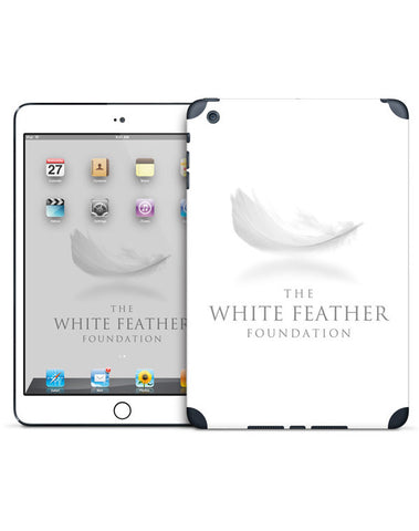 White Feather Foundation iPad 4th Generation Skin