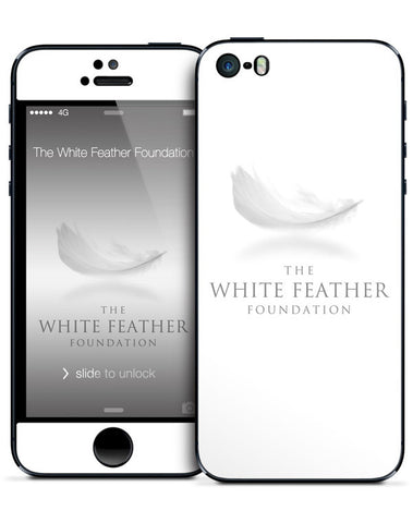 White Feather Foundation iPhone 5/5s Skin