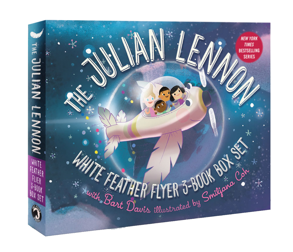 The Julian Lennon White Feather Flyer 3-Book Box Set - Include Audio/Video Books