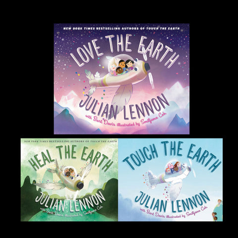 Love The Earth, Heal The Earth & Touch The Earth Book Collection + MP4 Video Books