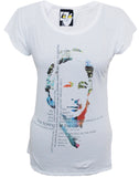 Julian Lennon (Ticking Of The Clock) White T-Shirt