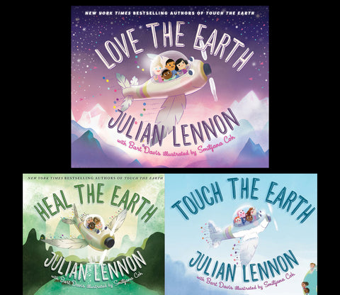 Love The Earth, Heal The Earth & Touch The Earth Book Collection