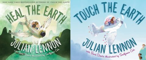 Touch The Earth & Heal The Earth Books