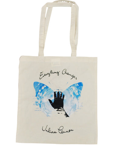 Julian Lennon (Everything Changes) Natural Shopper Bag