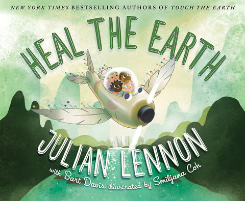Heal The Earth Book - Includes Free MP4 Video Book