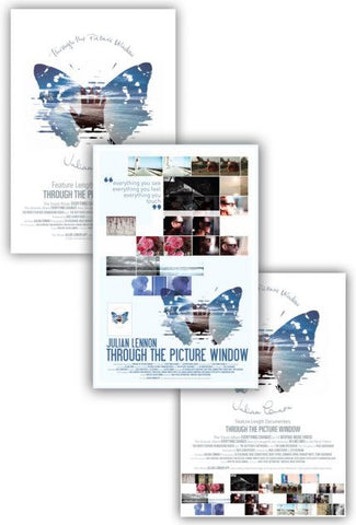 Julian Lennon (Through The Picture Window) Poster Bundle