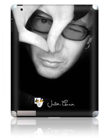 Julian Lennon (B&W Face) iPad 2/3 Skin