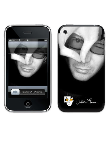 Julian Lennon (B&W Face) iPhone 3G/3GS Skin