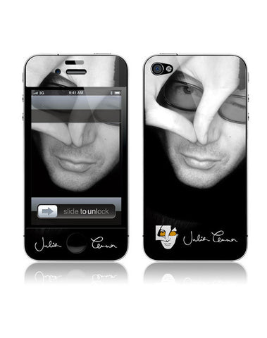 Julian Lennon (B&W Face) iPhone 4/4S Skin