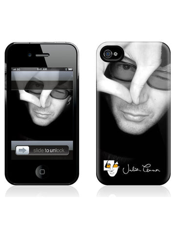 Julian Lennon (B&W Face) iPhone 4/4S Hard Case